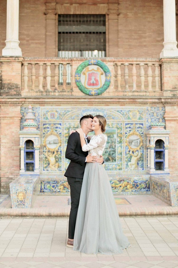 couple portrait in seville