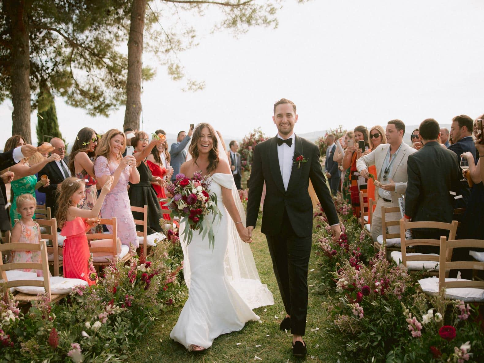 just married - the recessional