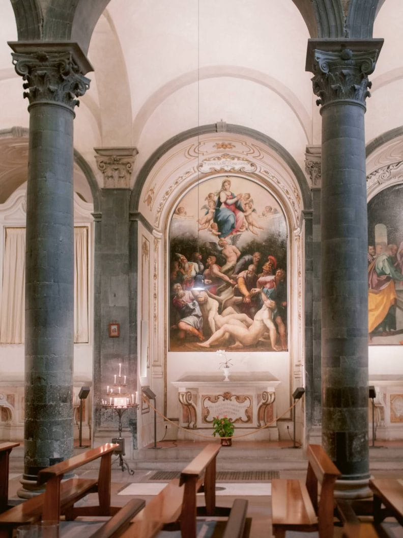 catholic wedding ceremony in the heart of Florence