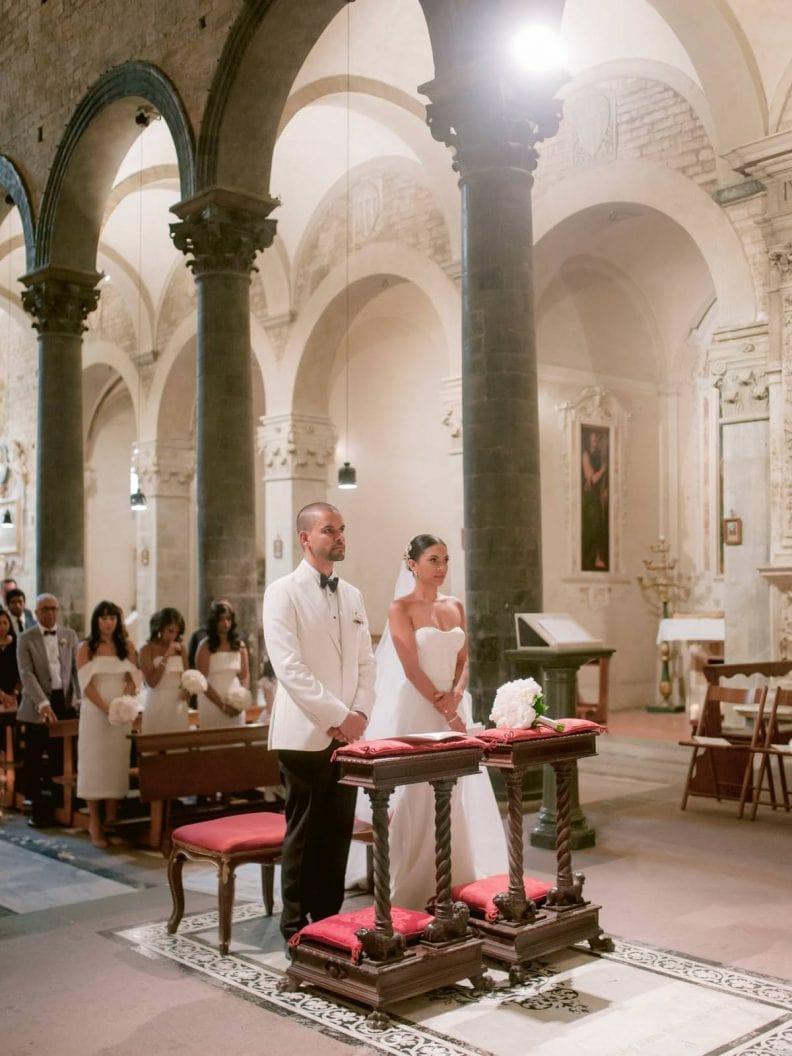 church wedding in Florence
