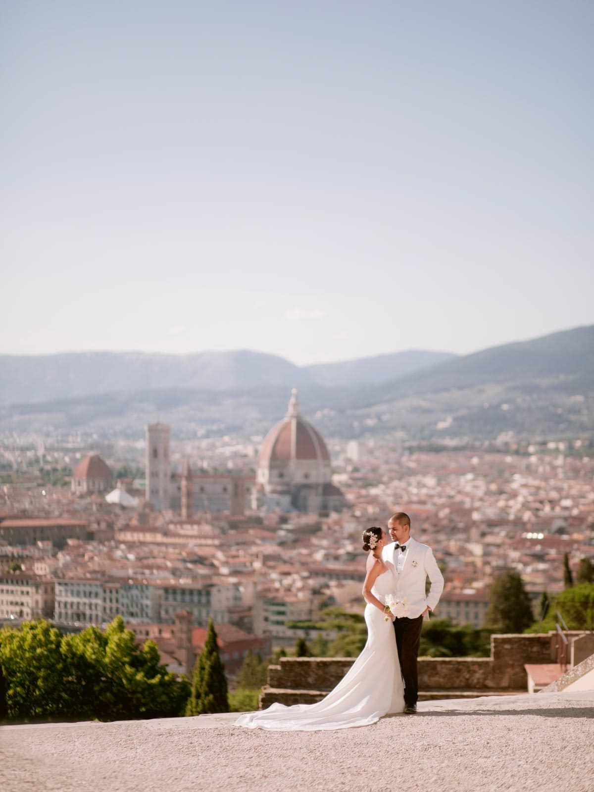 stunning view of Duomo in Florence