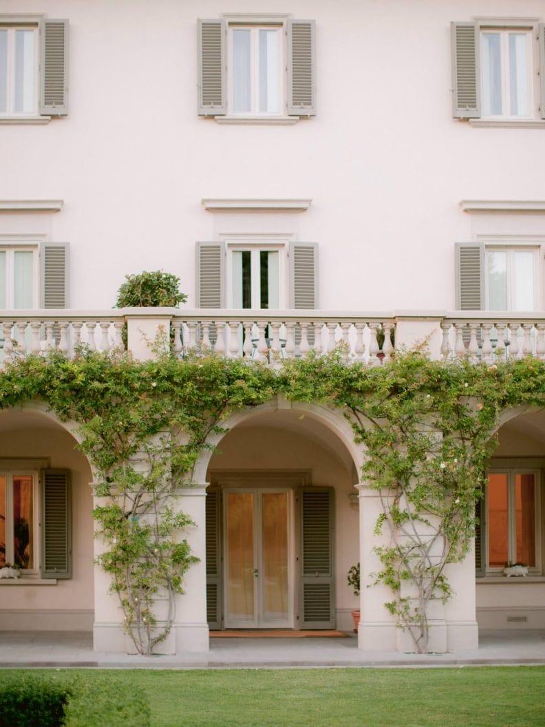 wedding at villa la vedetta in florence