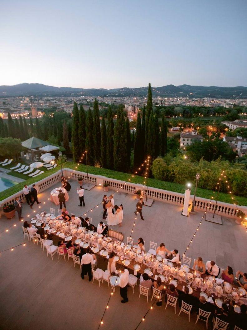 the great view from the top the villa la vedetta