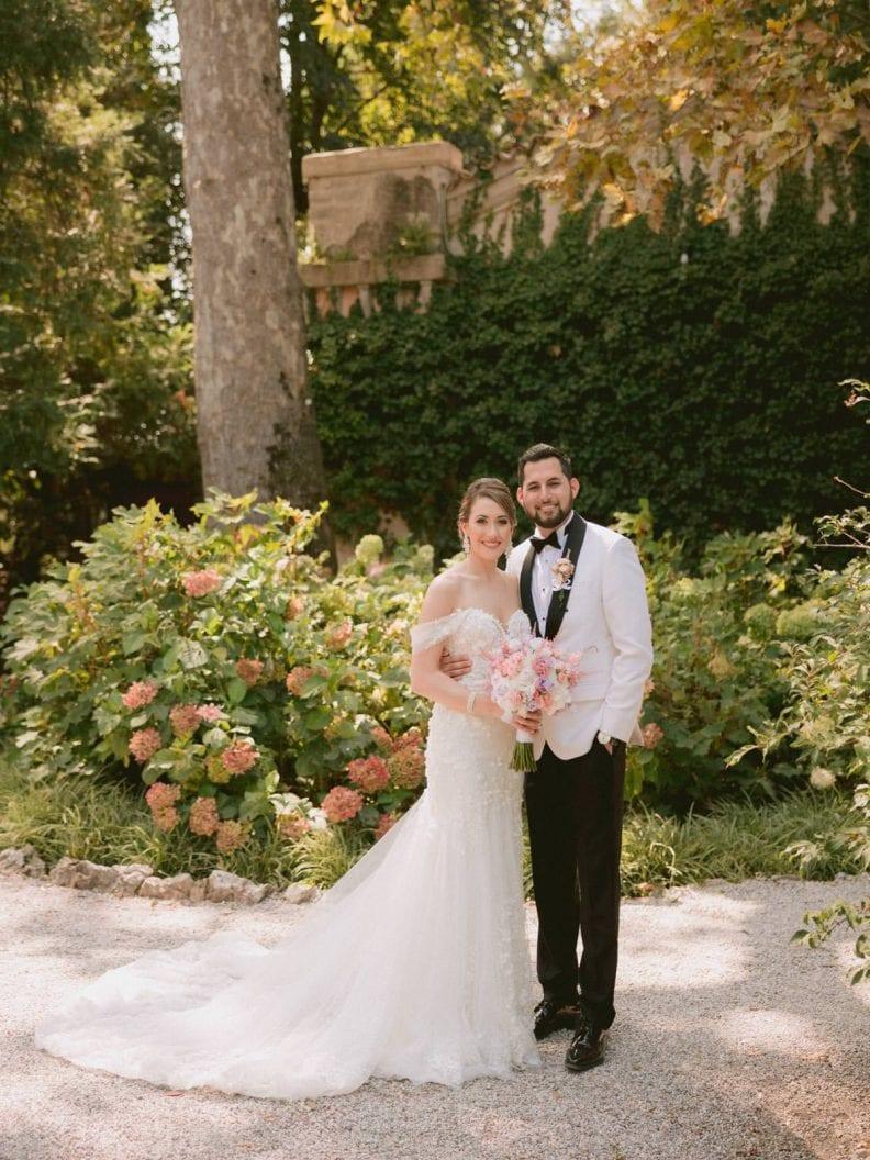 the newlywed at Isola del Garda