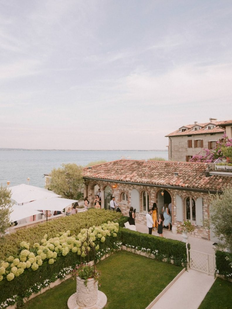 Bellagio Wedding reception at La Speranzina