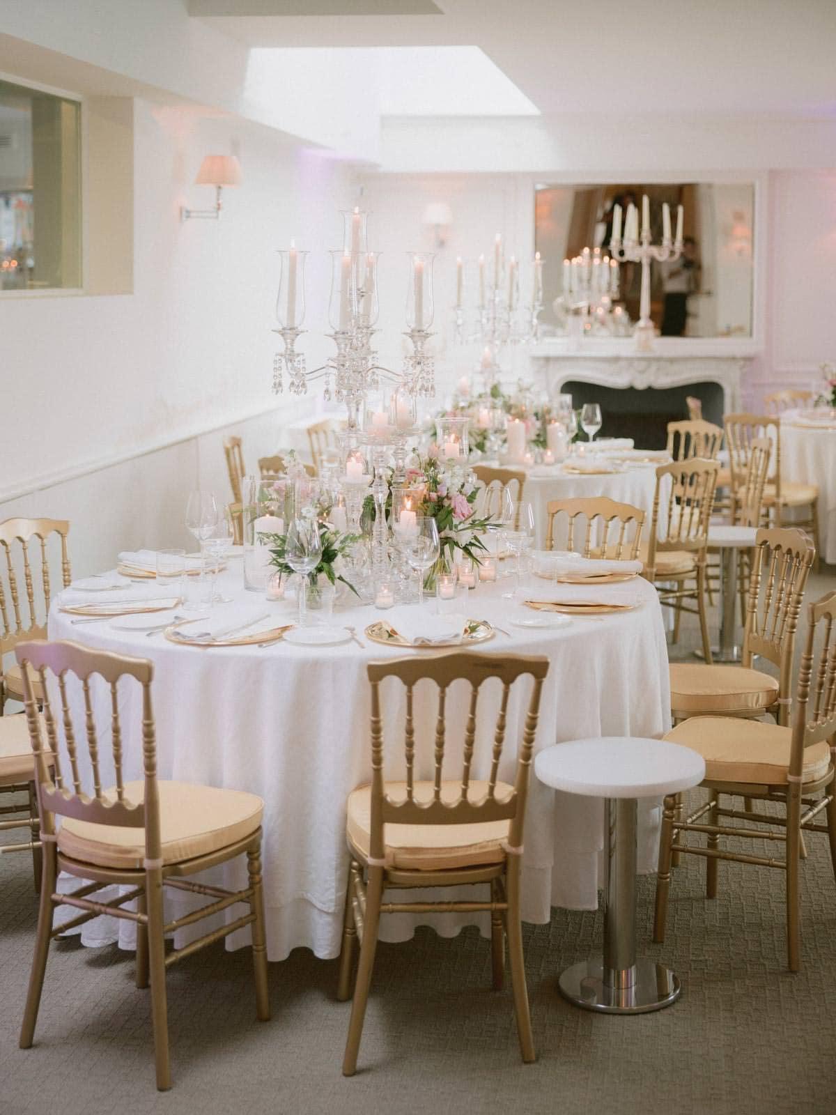 wedding dinner setting at La Speranzina in Bellagio