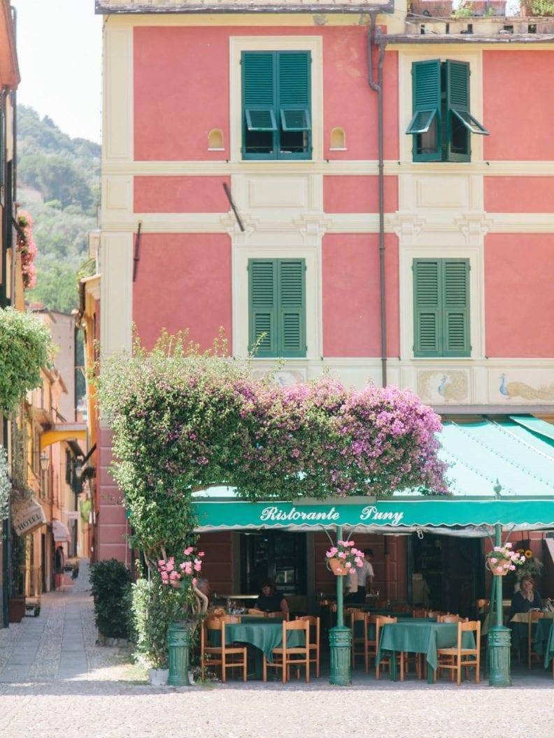 the Piazzetta in Portofino