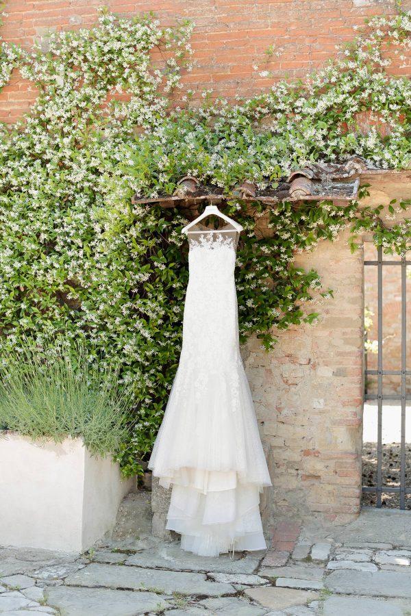 bridal gown by pronovias