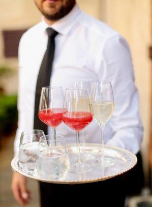 prosecco and rossini for the aperitif