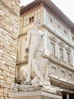 detail of florence italy