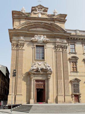 chiesa di san firenze in the centre