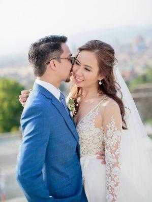 heppy newlyweds