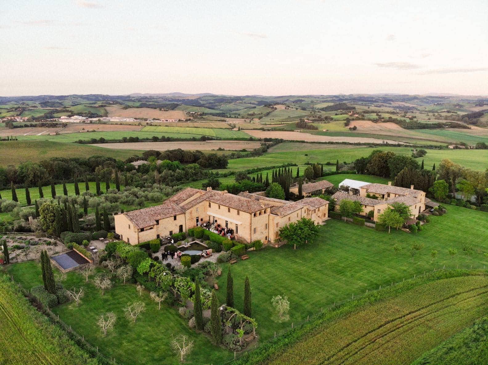 brogo finocchieto from the drone