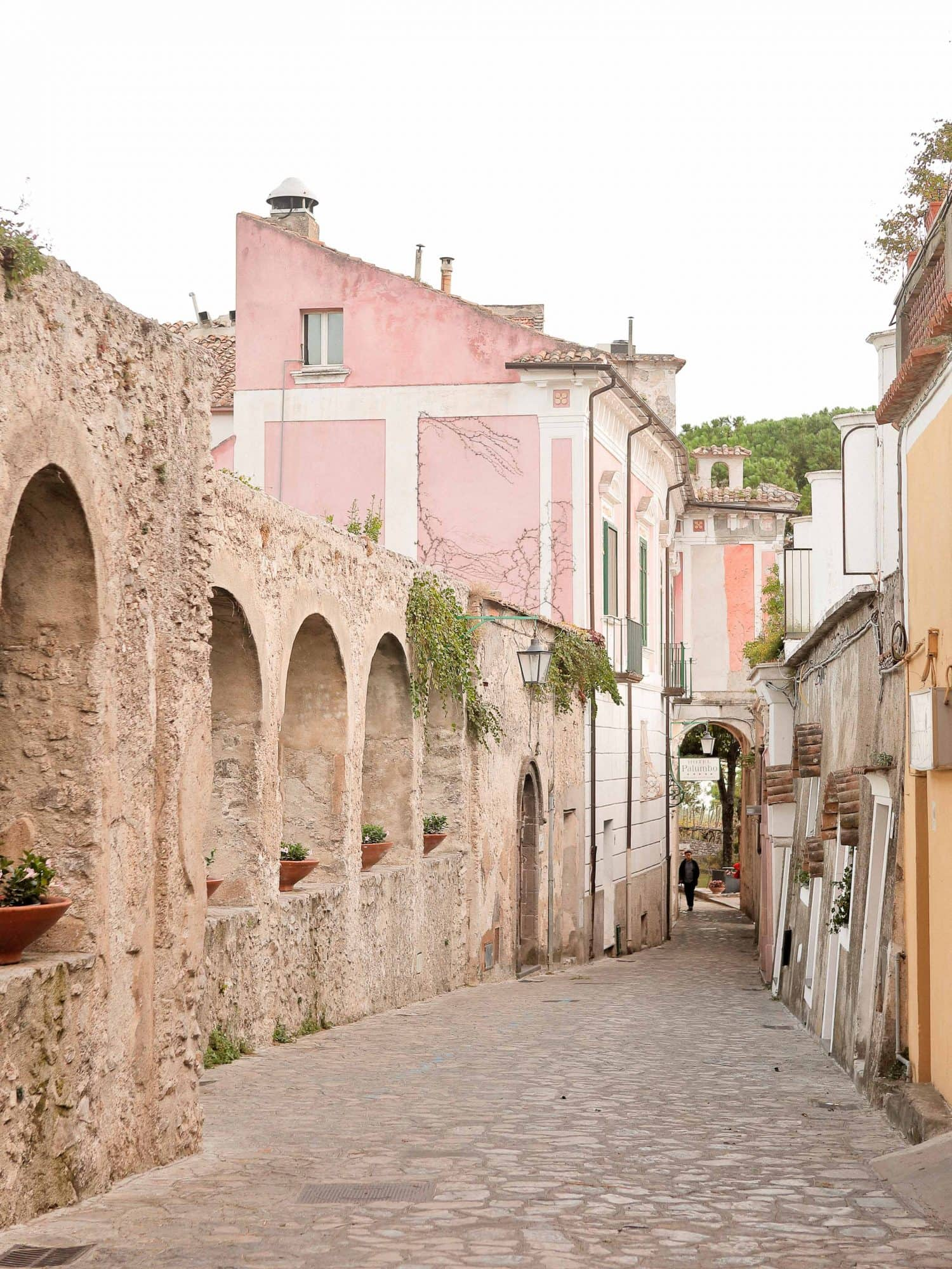 a street in ravello
