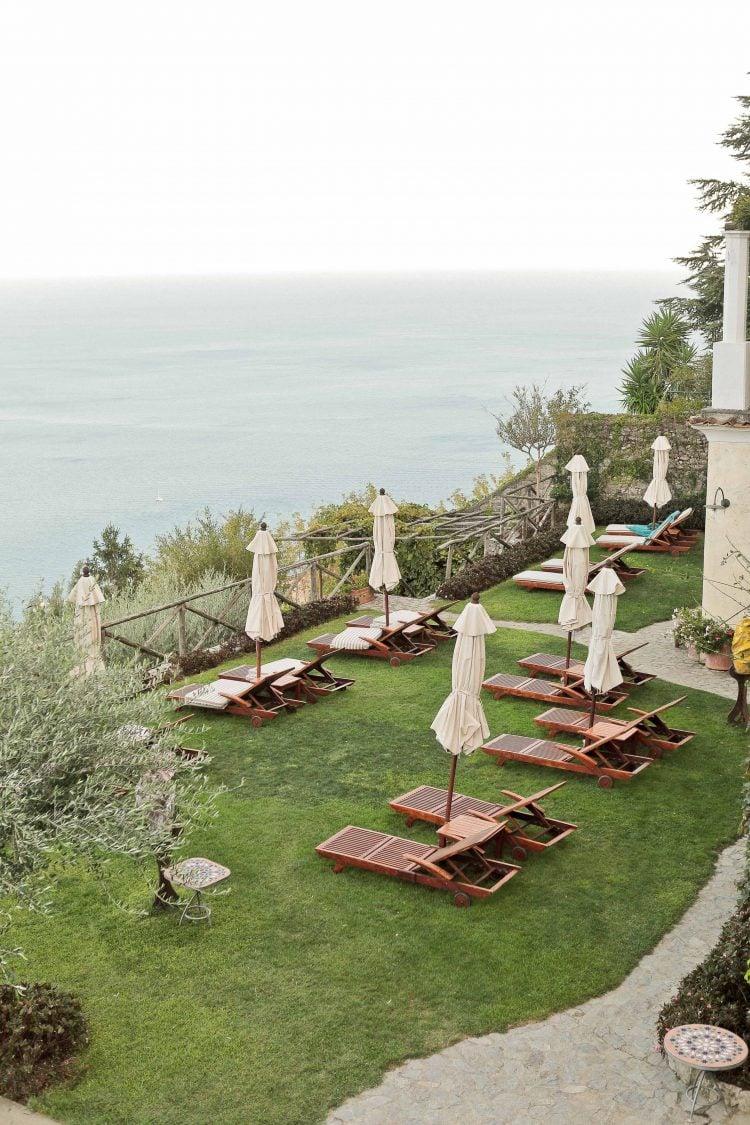 the garden of palazzo avino