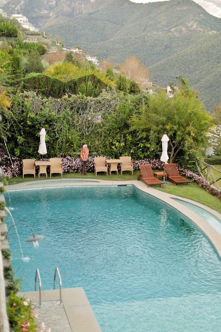 the pool of palazzo avino