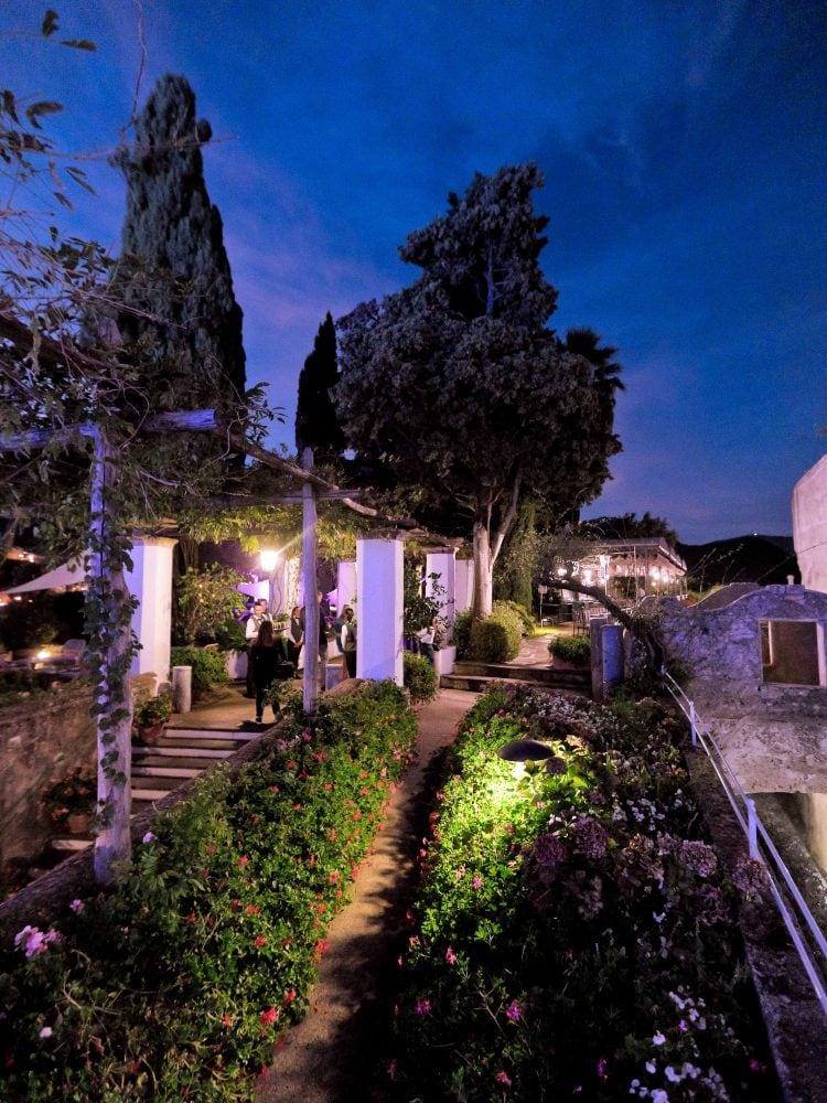 the garden of belmond hotel caruso