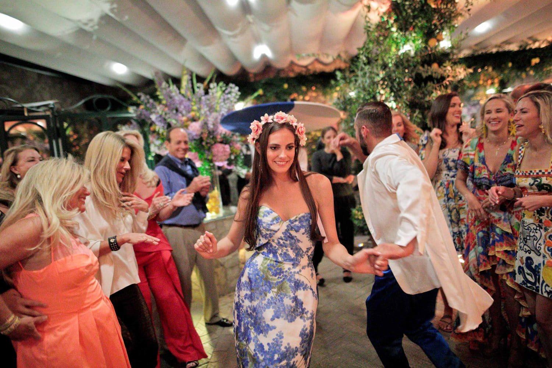 guests dancing and having fun