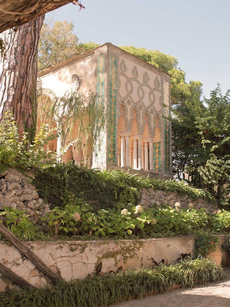 the architecture of the villa