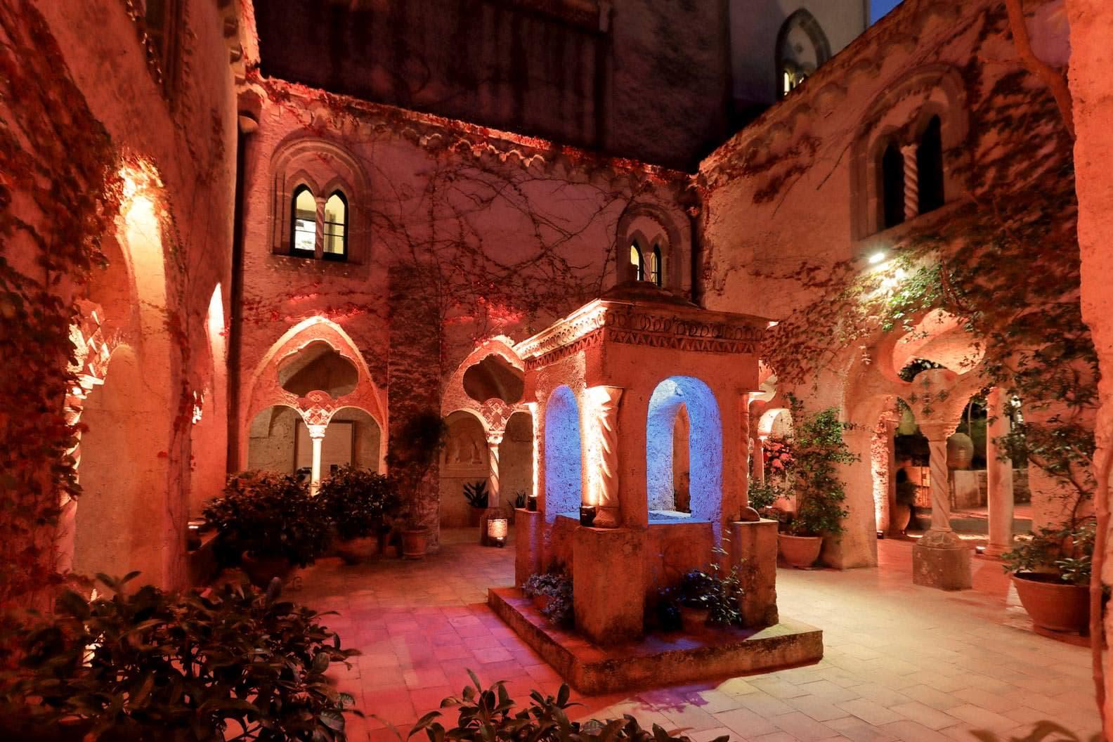 the scenery of villa cimbrone