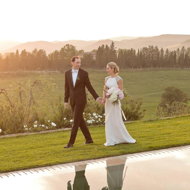 Intimate Wedding at Castiglion del Bosco Montalcino
