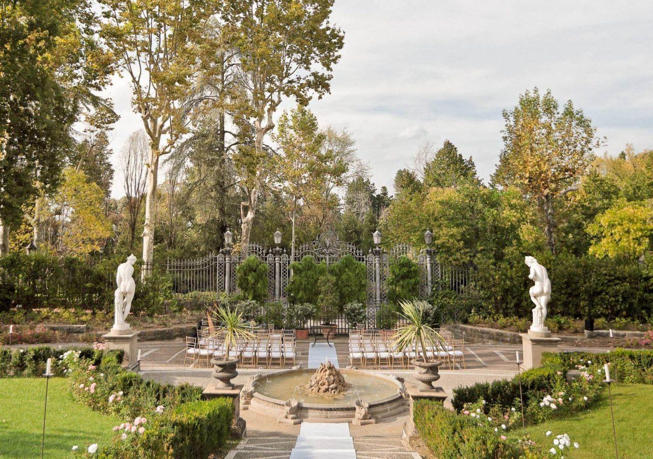 wedding at villa cora in florence