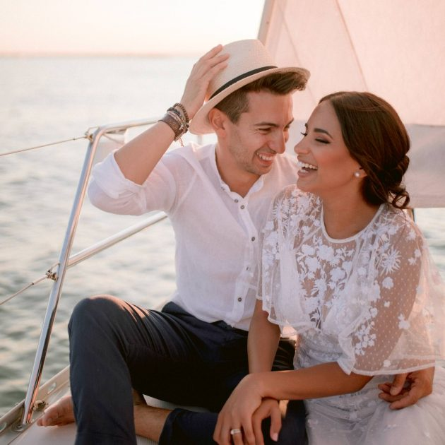 elopement on the boat